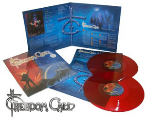 FREEDOM CALL - Crystal Empire (vinilo rojo)
