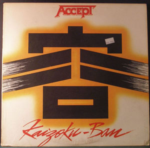 ACCEPT - Kaizoku Ban (Live In Japan)