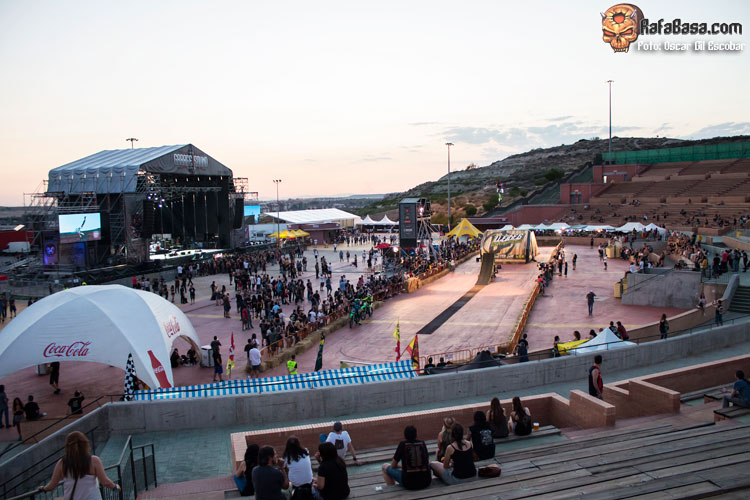 GARAGE SOUND FESTIVAL - Viernes 14 y Sábado 15 de 2017 - Auditorio Miguel Rios- Rivas Vaciamadrid - Madrid