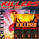 KILLERS - Murder One/ Menace To Society/ South American Assault Live (Re-ediciones)