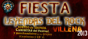 Fiestas Leyendas del Rock