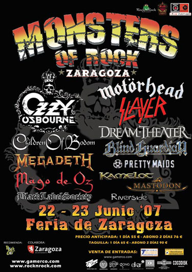 Monsters Of Rock Cartel 