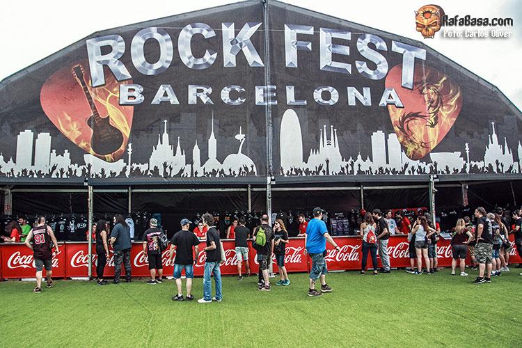 ROCK FEST BARCELONA - Jueves 5, Viernes 6 y Sábado 7 de Julio - Parc de Can Zam - Santa Coloma de Gramenet - Barcelona