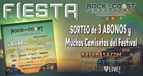 ROCK THE COAST FIESTAS