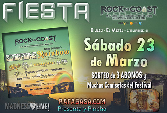 FIESTA ROCK THE COAST