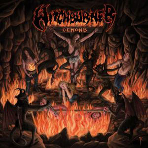 WITCHBURNER  - Demons