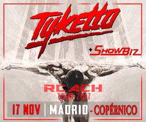 TYKETTO -17 Nov Copernico - Madrid