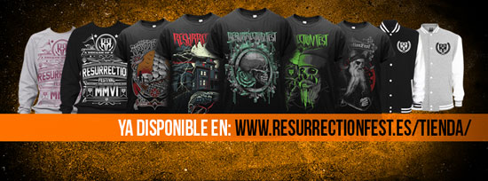 RESURRECTION FEST Shop