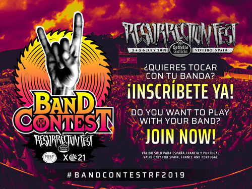 BAND CONTEST del RESURRECTION FEST