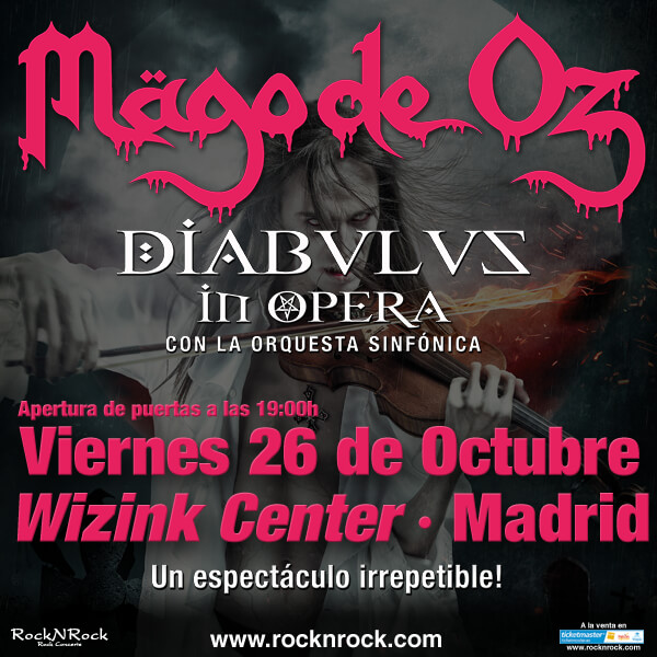 M�GO DE OZ - 26/10/2018 - WIZINK CENTER - MADRID