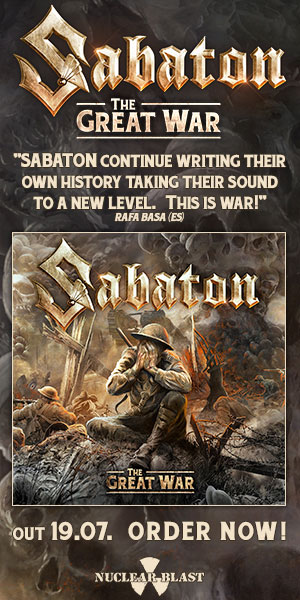 Nuclear Blast - SABATON - The Great War