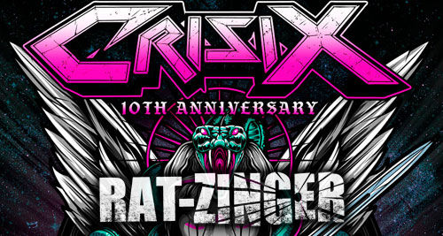 ROCK FEST BARCELONA ON TOUR CON CRISIX Y RAT-ZINGER