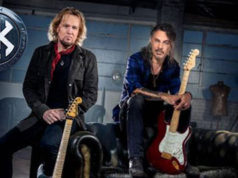 SMITH/KOTZEN - Clip en el estudio de Adrian Smith y Richie Kotzen