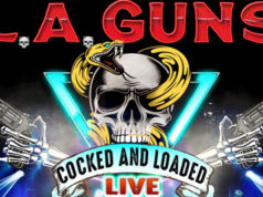"Directo de L.A. GUNS, en julio, titulado ""Cocked & Loaded Live"""