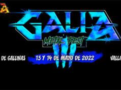GALIA METAL FEST se celebrará los días 13 y 14 de mayo de 2022