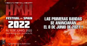 El festival HEAVY METAL HEART SPAIN se aplaza a 2022