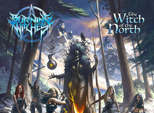 Critica del CD de BURNING WITCHES - The Witch Of The North