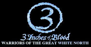 3 INCHES OF BLOOD