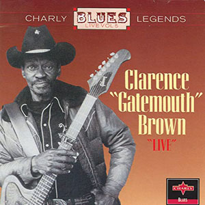 CLARENCE GATEMOUTH BROWN - Live