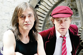 Malcolm y Angus Young