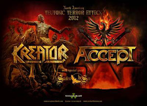 ACCEPT, KREATOR y SWALLOW THE SUN