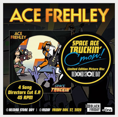 Ace Frehley - Space Truckin