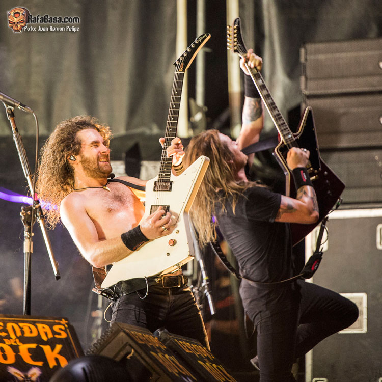 AIRBOURNE - LEYENDAS DEL ROCK 2019