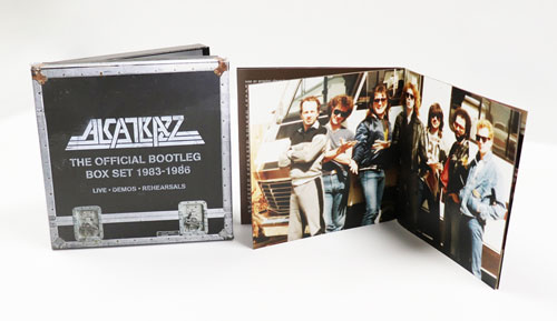 ALCATRAZZ - The Official Bootleg Boxset 1983-1986