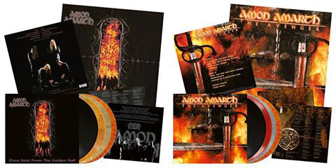 AMON AMARTH - Once Sent From The Golden Hall y  The Avenger