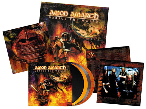 "AMON AMARTH - ""The Crusher"" y ""Versus The World"