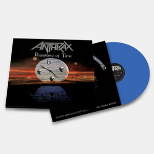 ANTHRAX - Persistence Of Time  (azul)
