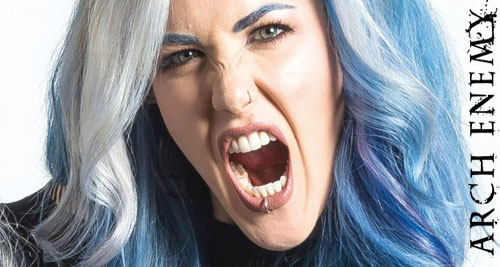 Alissa White-Gluz de ARCH ENEMY