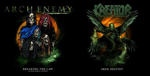 ARCH ENEMY y KREATOR