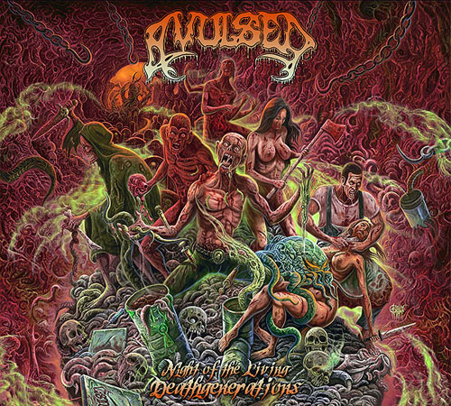AVULSED - Night Of The Living Deathgeneratuions