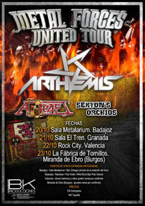 Metal Forces United Tour 2011