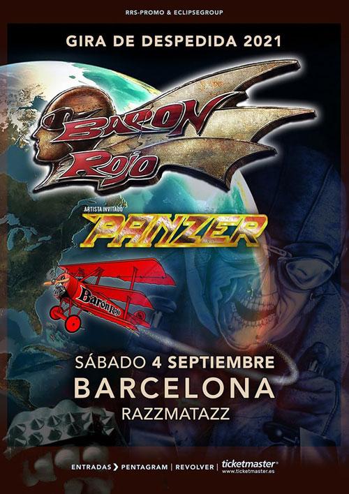 BARON ROJO - Página 3 Barcelona2021