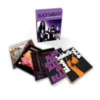 BLACK SABBATH - Classic Album Selection: 1970-1973