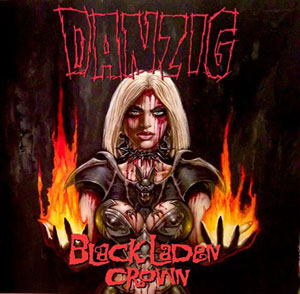 DANZIG- Black Laden Crown