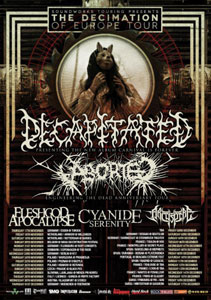 DECAPITATED y ABORTED