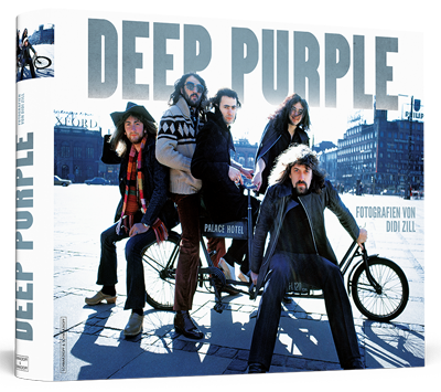 DEEP PURPLE - The Great Photo Book By Didi Zill