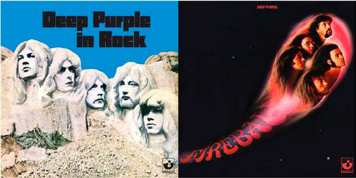 DEEP PURPLE -In Rock y Fireball