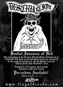 DESTRUCTION - Bestial Invasion Of Hell