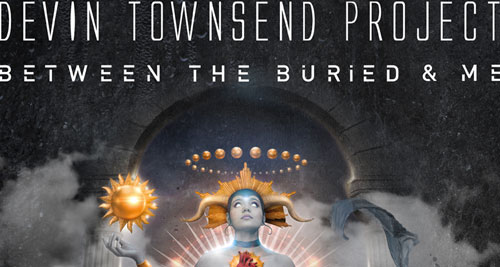 DEVIN TOWNSEND PROJECT + BETWEEN THE BURIED AND ME en Madrid y Barcelona en febrero de 2017