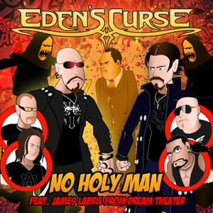 single digital de EDEN´S CURSE - No Holy Man