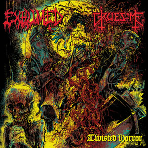 EXHUMED y GRUESOME  - Twisted Horror