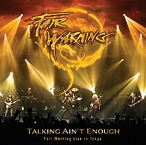 FAIR WARNING Talking Ain't Enough – Fair Warning Live In Tokyo