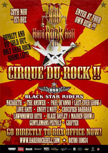 Hard Rock Hell - Cirque Du Rock