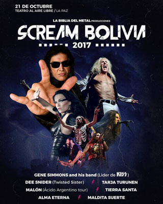 Scream Bolivia