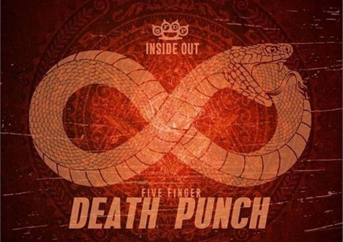FIVE FINGER DEATH PUNCH - Inside Out