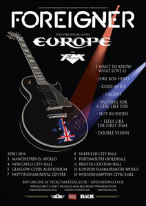 FOREIGNER y EUROPE